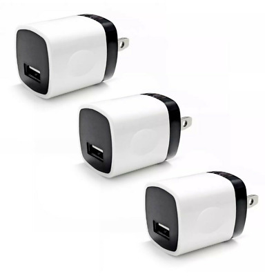 3x USB Wall Charger Power Adapter AC Home US Plug FOR Samsung LG iPhone iPod