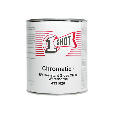 1 Shot Chromatic - UV Resistant Clear Waterborne