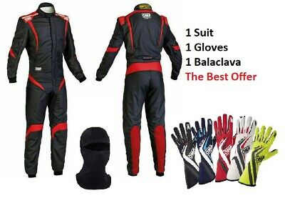Go kart Racing Suit CIK FIA Level 2 Approved and Karting Gloves with free Gift