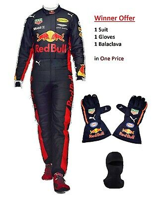 New Redbull fan editon Kart race suit go karting racing Gloves in All sizes