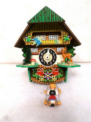 German Bouncing Small Cuckoo Clock