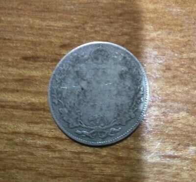 Rare! Old! Canada King George 5Th Silver Quarter Dollar 25 Cent Coin!