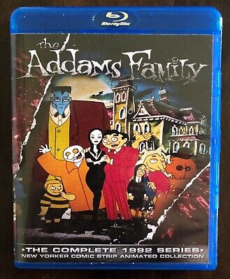 The Addams Family 1992 Complete Animated Series Blu-ray Set