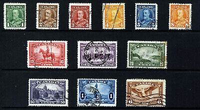 CANADA King George  V 1935 Complete Set Including Air Mail SG 341 to SG 355 VFU