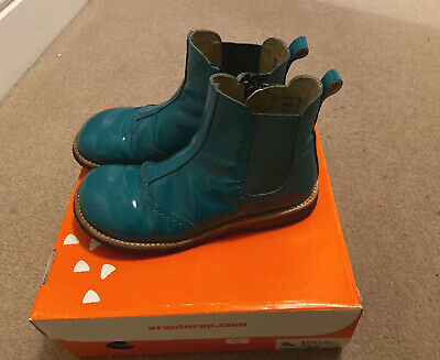 Petrol RAP girls Boots Size 34- Not Angulus. Great Condition.