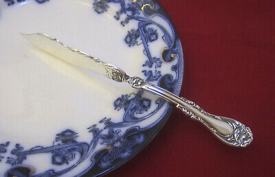 Antique Wm A Rogers Oneida HANOVER Silverplate Twisted Butter Knife circa 1901