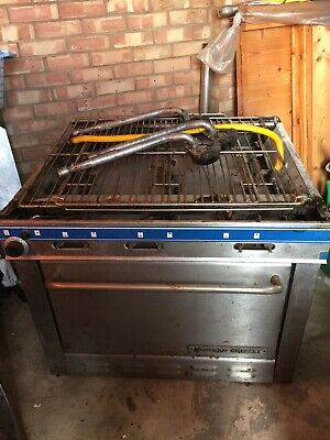 Used Commercial Montague Grizzly 6 Burner oven