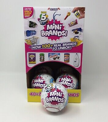 1 ZURU 5 Surprise Ball Mini Brands Mystery Capsule Authentic US Seller 1 Ball