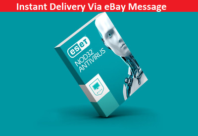 ESET NOD32 Antivirus 2020 - 1 Computer, 3 years - *Instant Delivery via eBay*