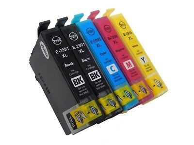 5x Cartucce Inchiostro per Epson Expression Home: XP-432, XP-435