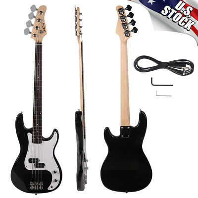 Glarry GP Electric Bass Guitar with Bass Bag/Strap Amp Wire/Plectrum/Wrench Tool