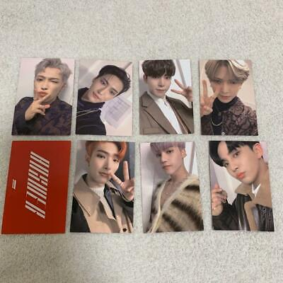 ATEEZ Treasure EPILOGUE: ACTION TO ANSWER RED Photo card member Chooseable