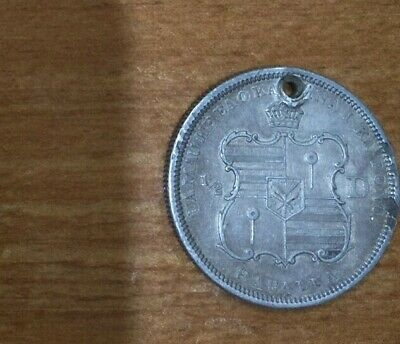 Rare! 1883 Usa G Ef Silver Hawaii Half Dollar 50 Cents Coin! Lustre