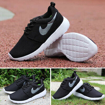 Children Kids Sports Shoes Boys Girls Running Trainers Mesh Lightweight Shoes UK