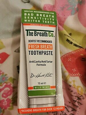 The breath Co Toothpaste