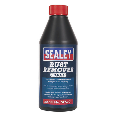 SCS201 Sealey Rust Remover 500ml [Chemicals] [Consumables]