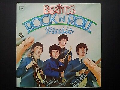 The Beatles Rock 'N' Roll Music 2 vinyles  33 Tours 1976 TBE