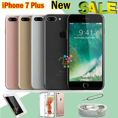 Unlocked New SIM Free Apple iPhone 7 Plus Mobile Smartphone 32GB UK