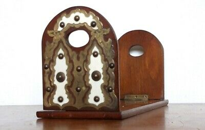 Super Victorian Medieval Gothic Bookslide Mahogany Bookslide Antique Bookslide
