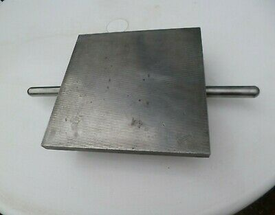 "Criterion. Engineers Small Iron Surface Plate 9"" X 9""  Grade ""B"" With Handles"