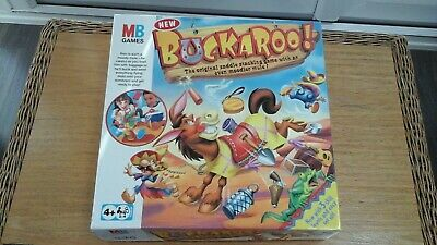 Buckaroo! The Original Saddle Stacking Game With 3 Skill Levels by MB 2003