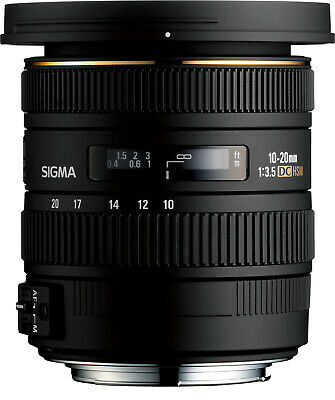 Sigma 10-20mm f/3.5 EX DC HSM Lens For Nikon Cameras