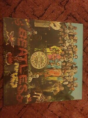 Beatles Original Sgt Peppers Lonely Heart Club Band  Album Complete VG Vinyl