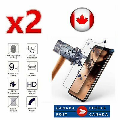 Premium Tempered Glass Screen Protector iPhone XS XR 11 Pro Max 7 8 SE 2020