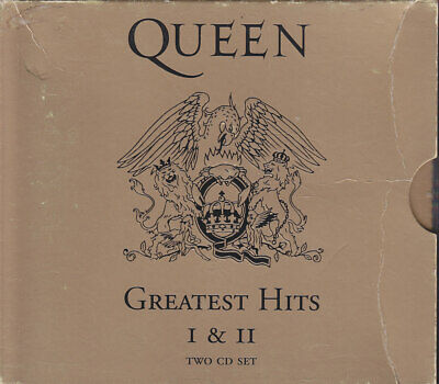 "QUEEN ""Greatest Hits I & II - The Gold Collection"" 2CD"