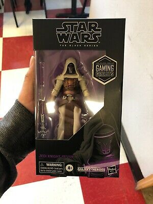 "Star Wars The Black Series 6"" Jedi Knight Revan GameStop Exclusive In HAND"