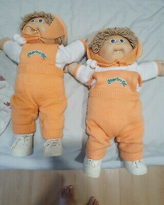 Vintage Cabbage Patch Twins 1985 - perfect condition