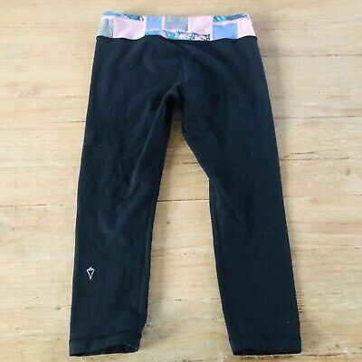 Ivivva (lululemon For Kids) Reversible Crop Leggings Size 10