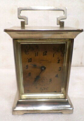 "American 1885 Ansonia Carriage Clock 7 "" Tall"