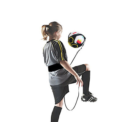 Adjustable Football Kick Throw Trainer Soccer Ball Train Control Practice Belt~Y