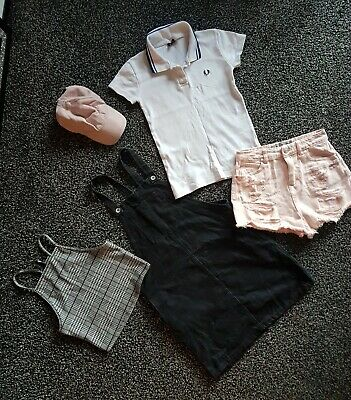 Lot Of Girls Size 6/age 13/size S Clothes, Inc 'Fred Perry', 'New Look', 'H&M' +