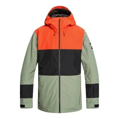 QUIKSILVER Sycamore Jacket Agave Green EQYTJ03233GZC0/ Ropa Nieve Hombre