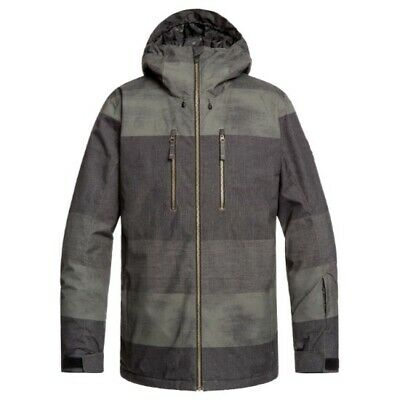 QUIKSILVER Silvertip Jacket Grapeleaf Septine EQYTJ03239CRE6/ Ropa Nieve Hombre