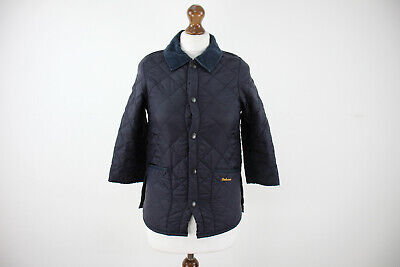 BARBOUR Childrens Liddesdale Quilted Jacket size S