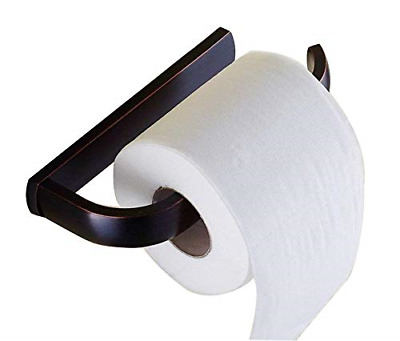 Bathroom Wall Mounted Black Oil Rubbed Bronze Toilet Paper Roll Holder fba193