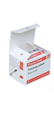 50 Australia Post Tracking Labels Tracker Delivery Parcel Stickers Cheap Bargain