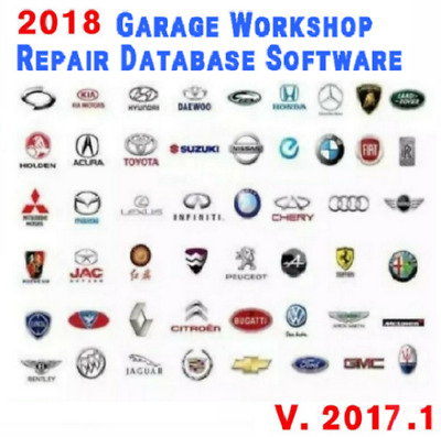 🔥🔥2018 Pro Workshop Garage Repair Auto Database Software ☑Fast Delivery🔥