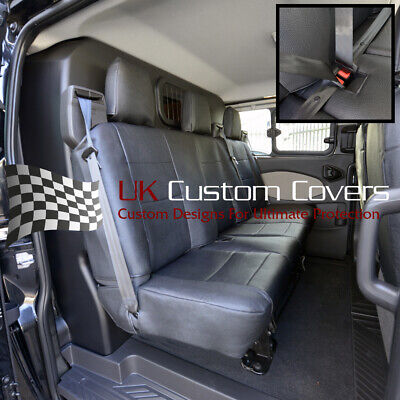 Ford Transit Custom 2013 Onwards Leatherette Rear Seat Covers - 329