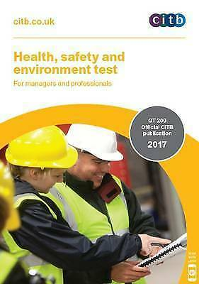 (Very Good)-Health, Safety and Environment Test for Managers and Professionals: