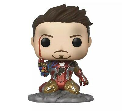 Funko Pop Avengers Endgame Ironman (I Am Ironman) GITD Snap Snapping Preorder PX