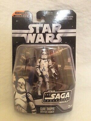 2006 Hasbro, Star Wars Saga Collection, Clone Trooper, Fifth Fleet Security