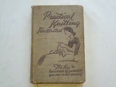BOOK PRACTICAL KNITTING BY MARGARET MURRAY & JANE KOSTER 1940s ? 320pp