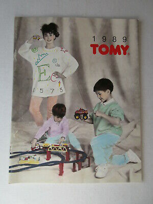 1980 TOMY TOY CATALOG Aurora AFX RIP ROCK N ROLLERS Sylvanian Families