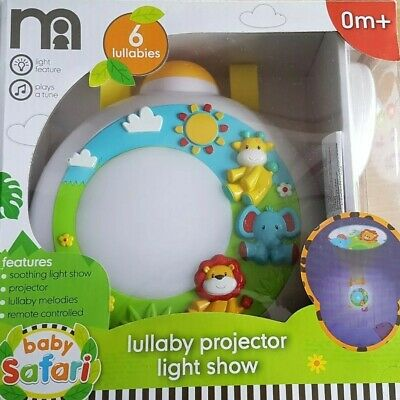 Mothercare lullaby projector light show in pristine condition