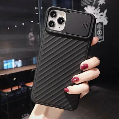 Case for iPhone 11 Pro X XR XS Max 7 8 Plus Solid Color Soft TPU Silicone Back