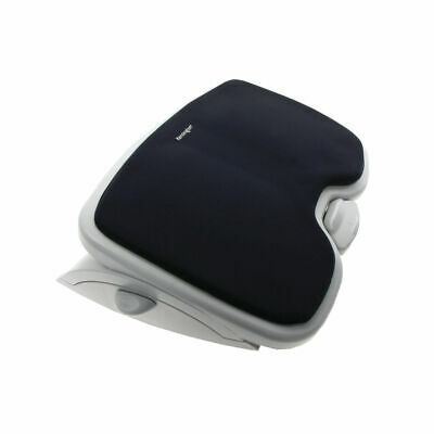 NEW! Kensington SoleMate Comfort Foot Rest Black/Grey 56153